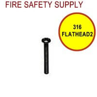 316FLATHEAD2 - 3/16 Inch x 2 Inch Flat Head Screws