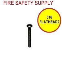 316FLATHEAD2 3/16 Inch x 2 Inch Flat Head Screws