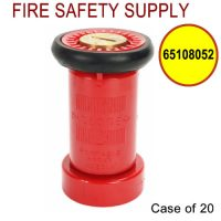 65108052 - FIRE HOSE NOZZLE 1.5 Inch RED LEXAN NST UL/FM - Case of 20