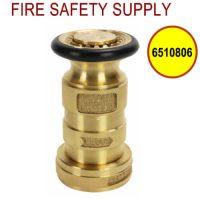 6510806 - FIRE HOSE NOZZLE 1.5 Inch CAST BRASS NST UL/FM