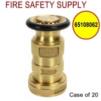 65108062 - FIRE HOSE NOZZLE 1.5 Inch CAST BRASS NST UL/FM - Case of 20