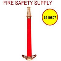 6510807 - FIRE HOSE NOZZLE PLAY PIPE-BRASS 2.5 Inch INLET