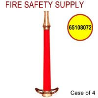 65108072 - FIRE HOSE NOZZLE PLAY PIPE-BRASS 2.5 Inch INLET