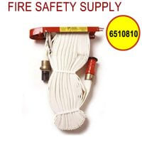6510810 - FIRE HOSE RACK PACK 1.5 Inch X 75 Feet W/RED PLASTIC NOZZLE