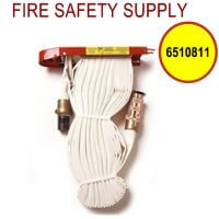 6510811 - FIRE HOSE RACK PACK 1.5 Inch X 75 Feet W/BRASS NOZZLE