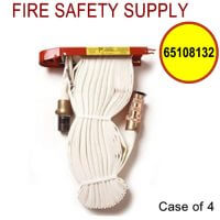 65108132 - FIRE HOSE RACK PACK 1.5 Inch X 100 Feet W/BRASS NOZZLE - Case of 4