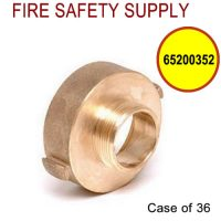 65200352 - FIRE HOSE REDUCING ADAPTER 2.5 Inch (F)NSTX 1.5 Inch (M)NST BRASS - Case of 36