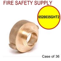 6520035GHT2 - FIRE HOSE REDUCING ADAPTER 2.5 (F)NST X 3/4 Inch (M)GHT - Case of 36