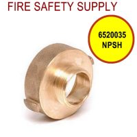 6520035NPSH - FIRE HOSE REDUCING ADAPTER 2.5 (F)NST X 1.5(M)NPSH