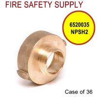 6520035NPSH2 - FIRE HOSE REDUCING ADAPTER 2.5 (F)NST X 1.5(M)NPSH - Case of 36