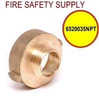 6520035NPT - FIRE HOSE REDUCING ADAPTER 2.5 (F)NST X 3 and 4 Inch (M)NPT