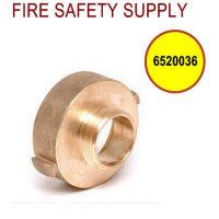6520036 - FIRE HOSE REDUCING ADAPTER 2.5 Inch (F)NST X 2 Inch (M)NPT