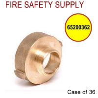 65200362 - FIRE HOSE REDUCING ADAPTER 2.5 Inch (F)NST X 2 Inch (M)NPT - Case of 36