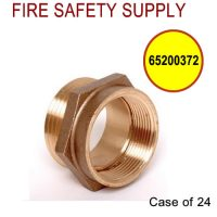 65200372 - FIRE HOSE ADAPTER HEX 2.5 (F)NPT X (M)NST - Case of 24