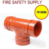 7010086 - GROOVED SHORT TEE 2-1/2 Inch (302)