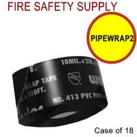 PIPEWRAP2 - 4 Inch X 10 MIL X 100 Feet PRINTED - Case of 18