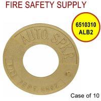 6510310ALB2 - FDC WALLPLATE 2-1/2 Inch IPS ALUM BRASS (AUTO SPRINK) - Case of 10
