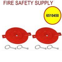 6510450 - FDC BREAKABLE CAPS ALUMINUM 2-1/2 Inch