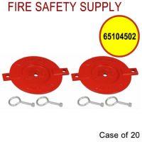 65104502 - FDC BREAKABLE CAPS ALUMINUM 2-1/2 Inch - Case of 20