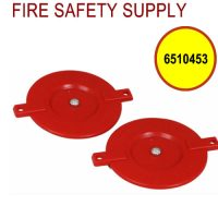 6510453 - FDC RED QUICK PLUG PLASTIC 2-1/2 Inch W/ SPREADERS