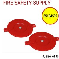 65104532 - FDC RED QUICK PLUG PLASTIC 2-1/2 Inch W/ SPREADERS - Case of 8