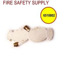 """6510802 - FIRE HOSE 1.5"""" X 75' W/BRASS COUPLINGS NST (UL)"""