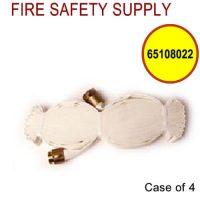 65108022 - FIRE HOSE 1.5 Inch X 75 Feet W/BRASS COUPLINGS NST (UL) - Case of 4