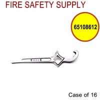65108612 - FIRE HOSE HYDRANT WRENCH 2-1/2 Inch COUPLING COMBO HOSE/HYDRANT - Case of 16
