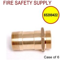 65200422 - FIRE HOSE RACK NIPPLE 2.5 Inch (M) - Case of 6