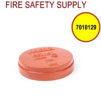 """7010129 - GROOVED END CAP 3"""" (601)"""