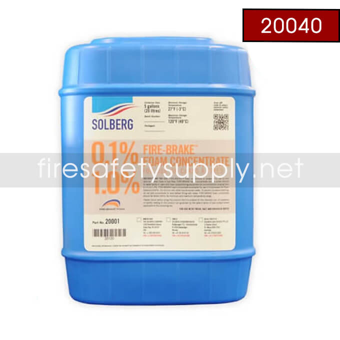Solberg 20040 RE-HEALING RF6 6%, 5 gallon pail