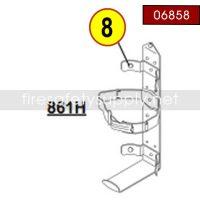 Amerex 06858 Bumper Grommet Rubber