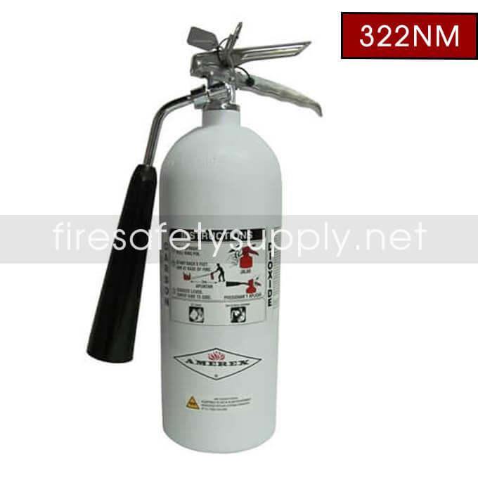 Amerex 322NM 5 Lb. Non-Magnetic Carbon Dioxide Fire Extinguisher