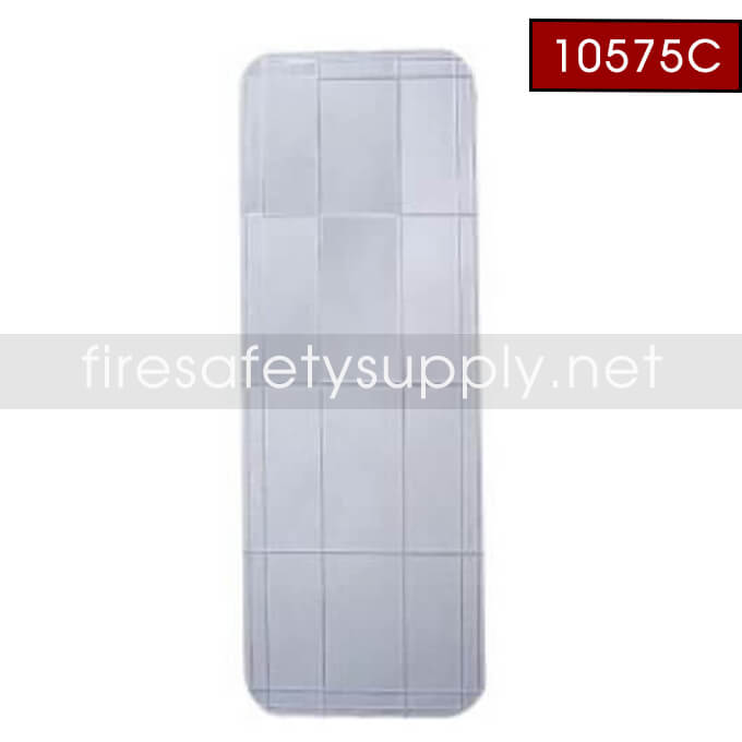 10575C Replacement Glass for 5 lb. Plastic Cato Fire Cabinet