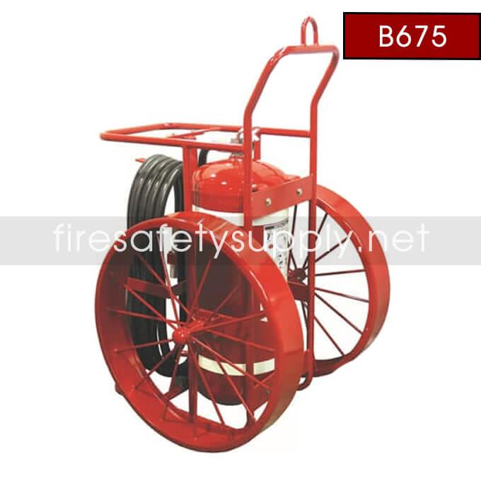 Amerex B675 150 lb. Halotron Wheeled Fire Extinguisher