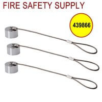 Ansul 439866 New Stainless Steel Blow-Off Caps 10/package (pkg. price)
