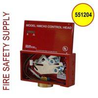 Pyro-Chem 551204 NMCH-DPT Control Head w/Switch, Mechanical