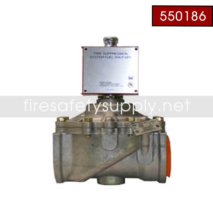 Pyro-Chem 550186 GV-300 Gas Valve