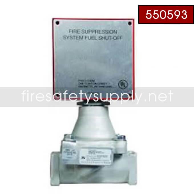 Pyro-Chem 550593 GV-75 Gas Valve