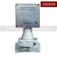 Pyro-Chem 550594 GV-100 Gas Valve