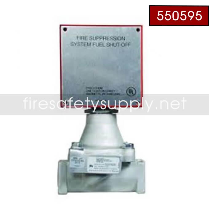 Pyro-Chem 550595 GV-125 Gas Valve