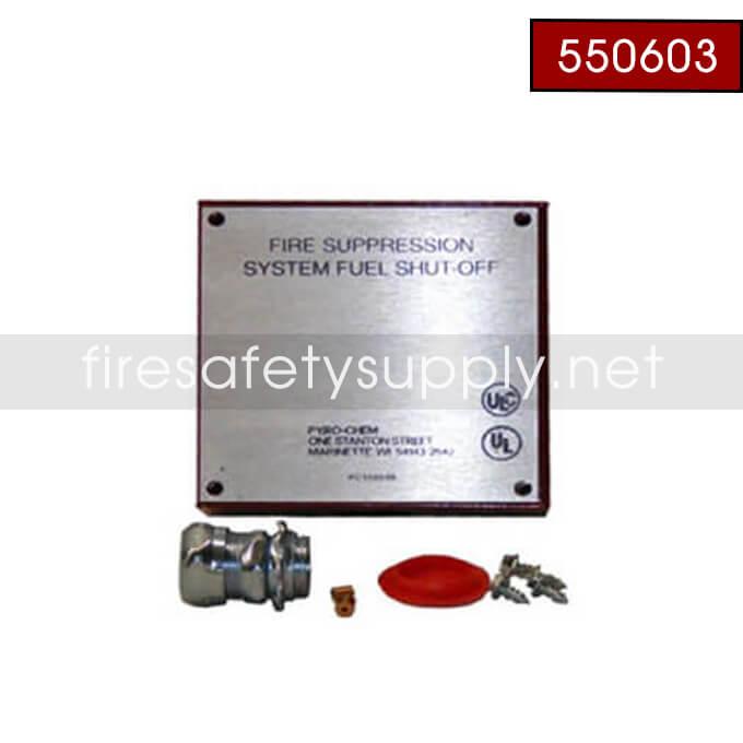 Pyro-Chem 550603 GVB Box Assembly