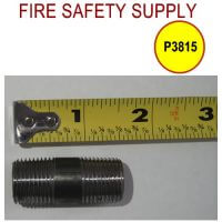 P3815 and P3815_25 - 3/8″ Variation of Black Pipe Nipple