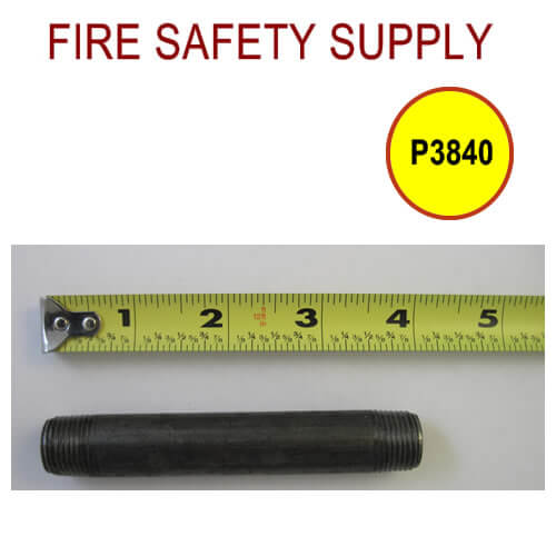 P3840 and P3840_25 - 3/8″ Variation of Black Pipe Nipple