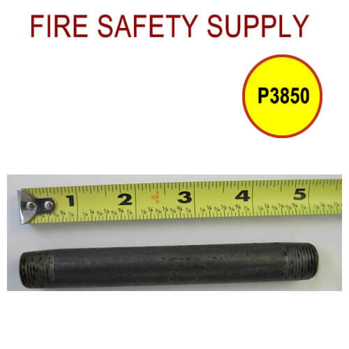 P3850 and P3850_25 - 3/8″ Variation of Black Pipe Nipple