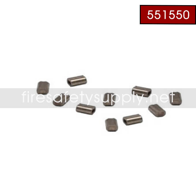 Pyro-Chem 551550 WC-10SS Crimps High Temperature Stainless Steel