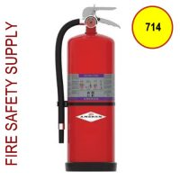 Amerex 714 High Performance ABC Fire Extinguisher 20LB 10A:120B:C Model 714