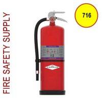 Amerex 716 High Performance Purple K Fire Extinguisher 13.2LB 80 BC Model 716