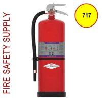Amerex 717 High Performance Purple K Fire Extinguisher 20LB 120 BC Model 717