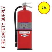 Amerex 724 High Performance ABC Fire Extinguisher 30LB 40B:C Model 724